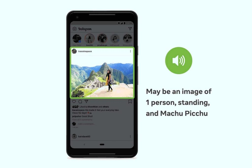 Facebook facilita el uso de su plataforma para personas con discapacidad visual gracias a IA